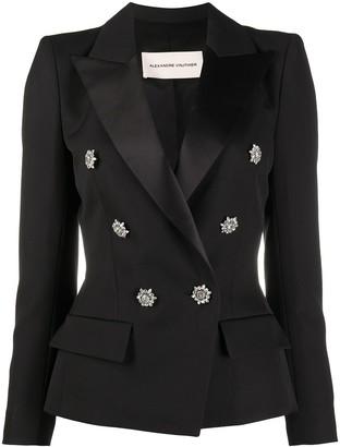 Alexandre Vauthier Floral Buttons Blazer