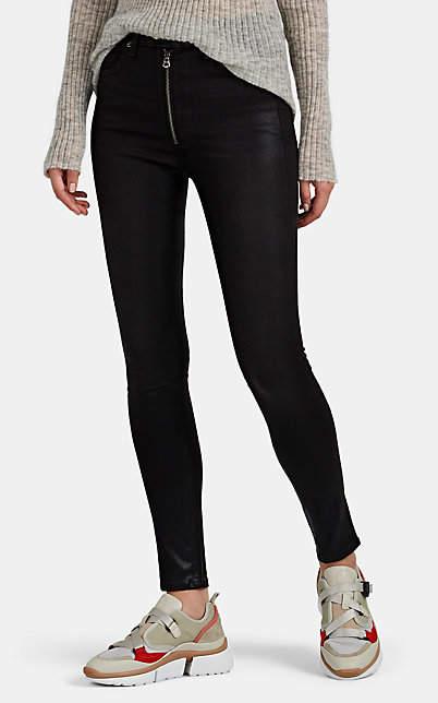 Rag & Bone Women's Baxter Coated Jeans - Black