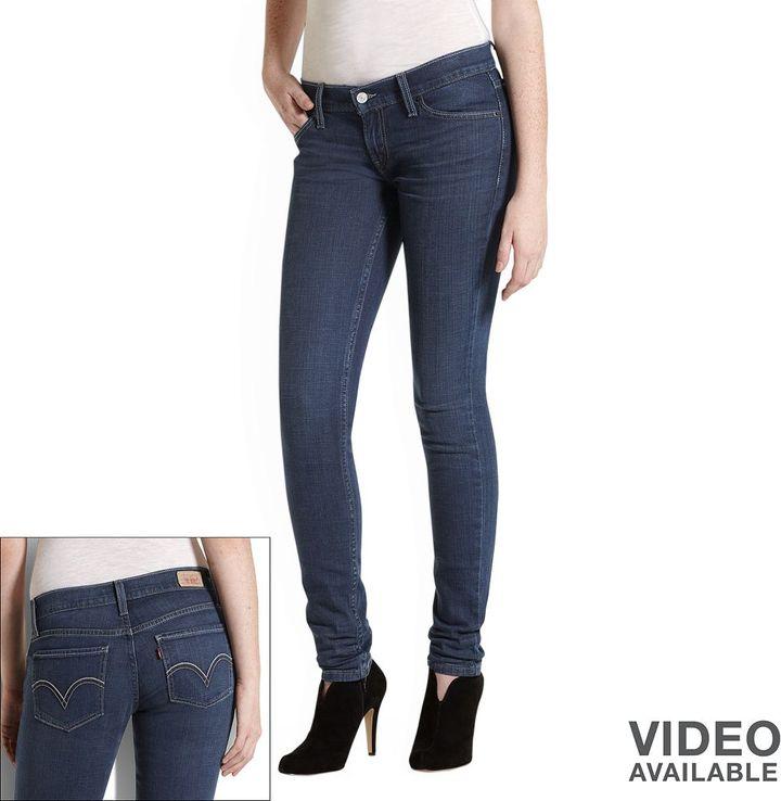 Levi's 524 too superlow skinny jeans - juniors