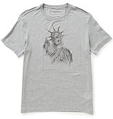 John Varvatos Liberty Skull Short-Sleeve Graphic Tee