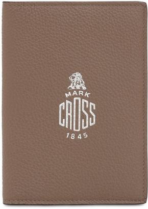 Mark Cross Grained Leather Passport Holder