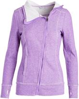 Head Deep Lavender Heather Asymmetrical-Zip Powder Day Jacket