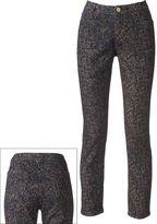 Apt. 9 modern fit floral brocade skinny jeans