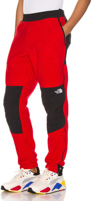 The North Face 95 Retro Denali Pant in TNF Red | FWRD