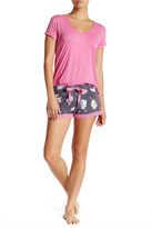 PJ Salvage Printed Drawstring Short
