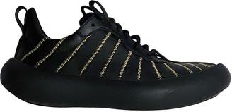 Marni Black Leather Trainers