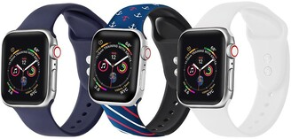 Posh Tech Multi Apple Watch Replacement Band - Set of 3 - 38mm/40mm