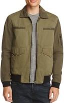 Blank NYC Blanknyc Tonal Color-Block Zip Jacket