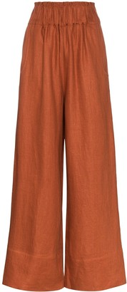 BONDI BORN Universal wide leg trousers