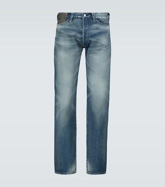 Junya Watanabe x Levi's straight-fit jeans