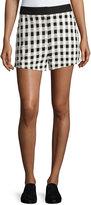 Rag & Bone Carson High-Waist Gingham Shorts