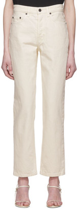 The Row Off-White Ash Jeans