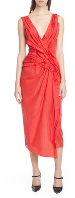 Jason Wu Collection Jason Wu Silk Habotai Cocktail Dress