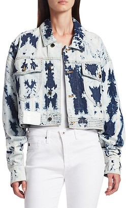 Frankie B. Bella Cropped Denim Jacket