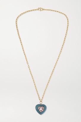 Retrouvaí Lollipop 14-karat Gold, Trolleite And Morganite Necklace - one size