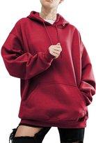 Pofachawis Women Pullover Hoodies Sweater Reg and Plus Size Sweatshirts 3XL