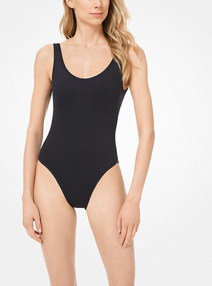 Michael Kors Scoop-Back Swimsuit