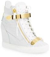 Giuseppe Zanotti Women's 'Lorenz' Wedge Sneaker