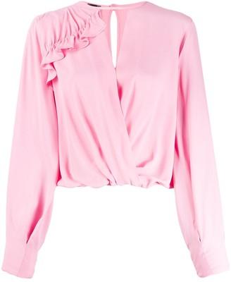 Pinko Wrap Style Blouse