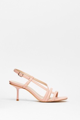 Nasty Gal Womens Heelin' Good Like I Should Strappy Stiletto Heels - Pink - 3