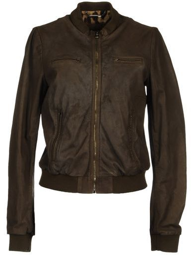 Dolce & Gabbana Leather outerwear