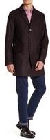 Ted Baker Alamo Notch Lapel Wool Blend Jacket
