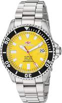 Seapro Men's SP4314 Scuba 200 Analog Display Automatic Self Wind Silver Watch