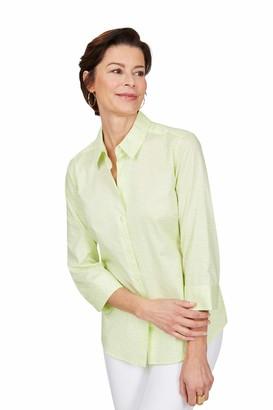 Foxcroft Women's Sue Wrinkle-Free Status Print Shirt