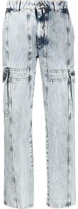 MM6 MAISON MARGIELA Cargo Straight-Leg Jeans