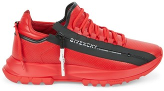 Givenchy Spectre Running Low-Top Zip Sneakers