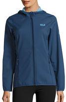 Jack Wolfskin Softshell Fleece Lined Activewear Jacket
