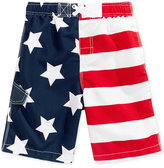 Kanu Surf Stars & Stripes Swim Trunks, Big Boys (8-20)