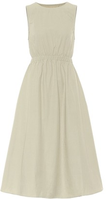 Frankie Shop Erica cotton midi dress