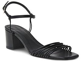 Whistles Women's Hana Multi-Strap Mid-Heel Sandals