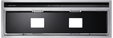 Fisher & Paykel HP90IHCB3 Integrated Cooker Hood, Stainless Steel / Black Glass