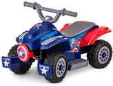 Kidtrax 6V Marvel Captain America Toddler Quad