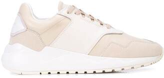 Buscemi two-tone sneakers