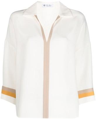 Loro Piana Ilene silk blouse