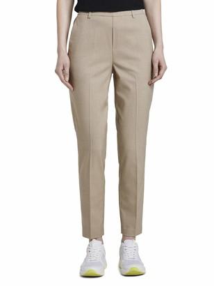 Tom Tailor Women's Easy Shino Solid Trouser