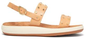 Ancient Greek Sandals Dinami Cushioned Sole Leather Sandals - Womens - Tan