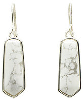Barse Howlite Drop Earrings
