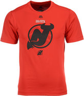 Majestic Men's New Jersey Devils Solid Win Synthetic T-Shirt