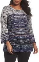 Nic+Zoe New Light Knit Tunic Top