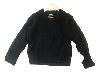 Benetton Black Wool Knitwear