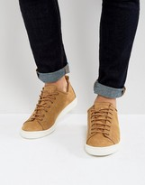 Ps By Paul Smith Miyata Nubuck Trainers In Taupe