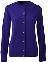 Classic Women's Supima Cardigan Sweater-Millstone Gray