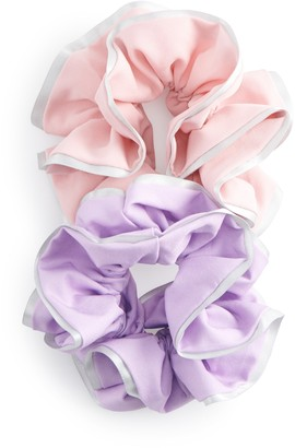 Tek Gear Women's 2-Pack Ruffle Scrunchie Set