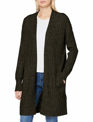 Pieces Women's Pcnew Sanni Ls Wool Knit Cardigan Noos Sweater
