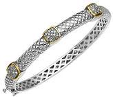 Lord & Taylor 14K Gold and Sterling Silver Diamond Bracelet