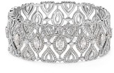 Nadri Open Pavé Bangle